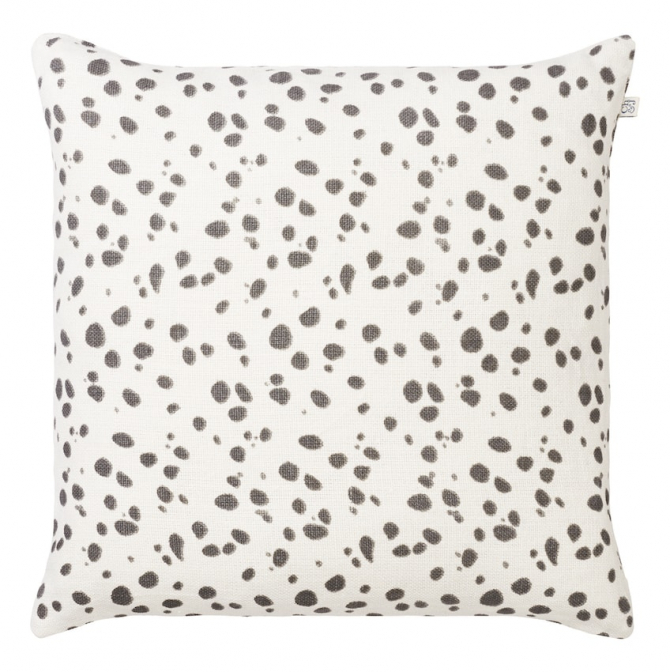 Tiger Dot - Grey in the group Cushions / Linen Cushion Covers at Chhatwal & Jonsson (ZCC060113-7)