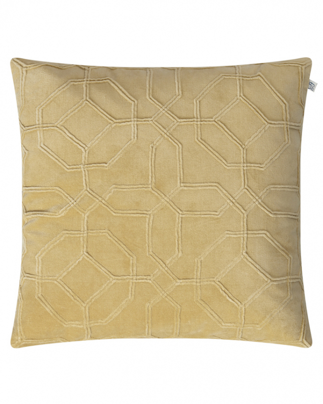 Nandi - Spicy Yellow in the group Cushions / Velvet Cushion Covers at Chhatwal & Jonsson (ZCC160134-15V)