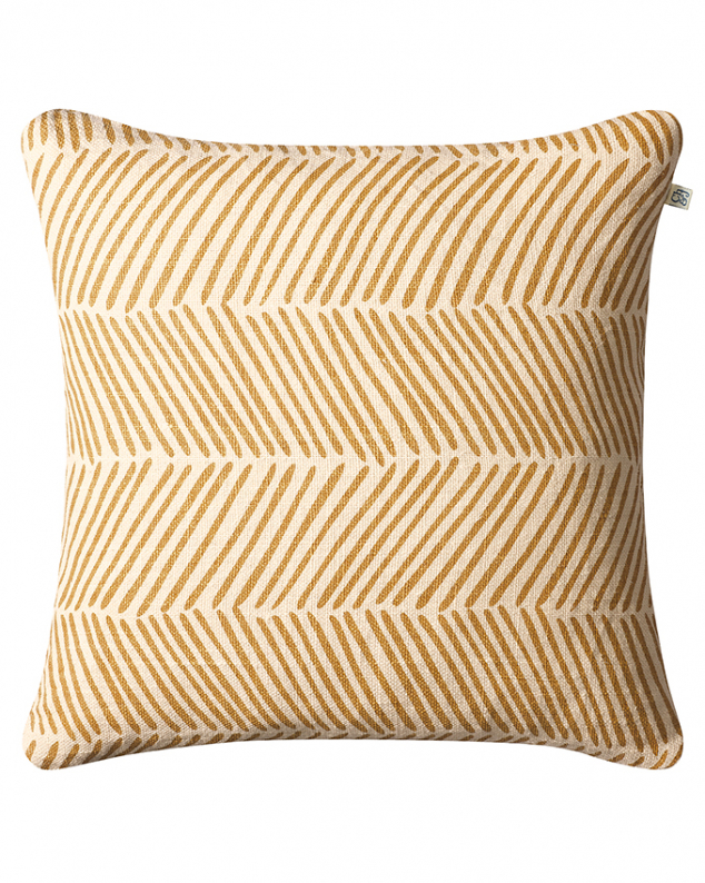 Rama - Spicy Yellow in the group Cushions / Linen Cushion Covers at Chhatwal & Jonsson (ZCC230134-16B)