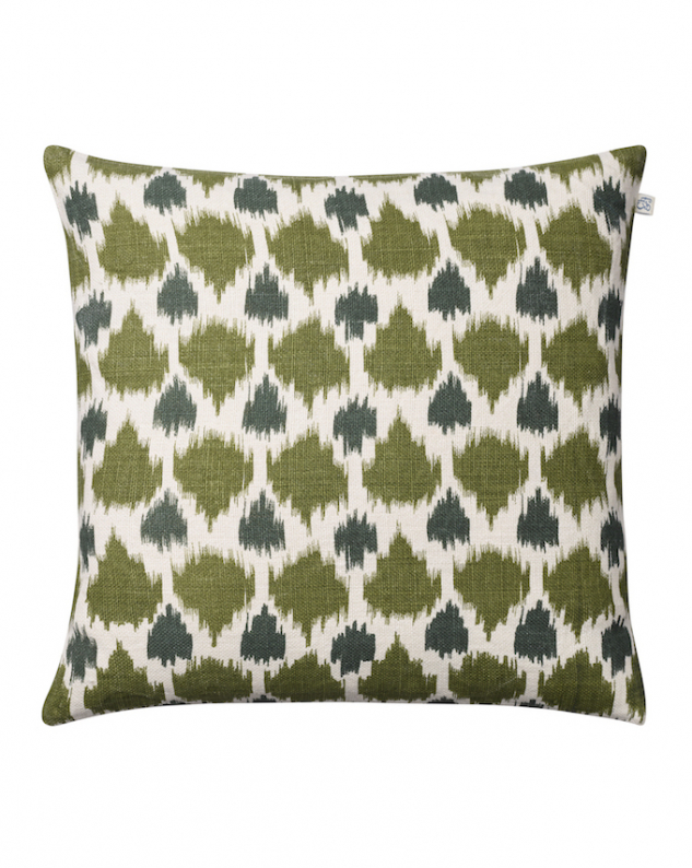 Assam - Cactus Green/Green in the group Cushions / Linen Cushion Covers at Chhatwal & Jonsson (ZCC240172-13)
