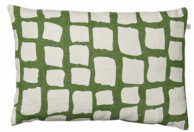 Adi - Cactus Green in the group Cushions / Linen Cushion Covers at Chhatwal & Jonsson (ZCC320172-9)