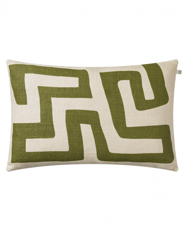 Nagra - Cactus Green in the group Cushions / Linen Cushion Covers at Chhatwal & Jonsson (ZCC580272-15B)