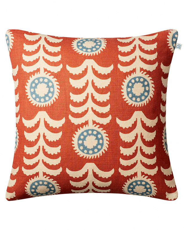Alok - Lt. Beige/Apricot/Heaven Blue in the group Cushions / Linen Cushion Covers at Chhatwal & Jonsson (ZCC620161-17B)