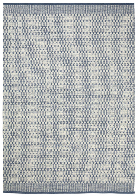 Mahi - Off White/Blue in the group Rugs / Runners at Chhatwal & Jonsson (ZDH193044-10)