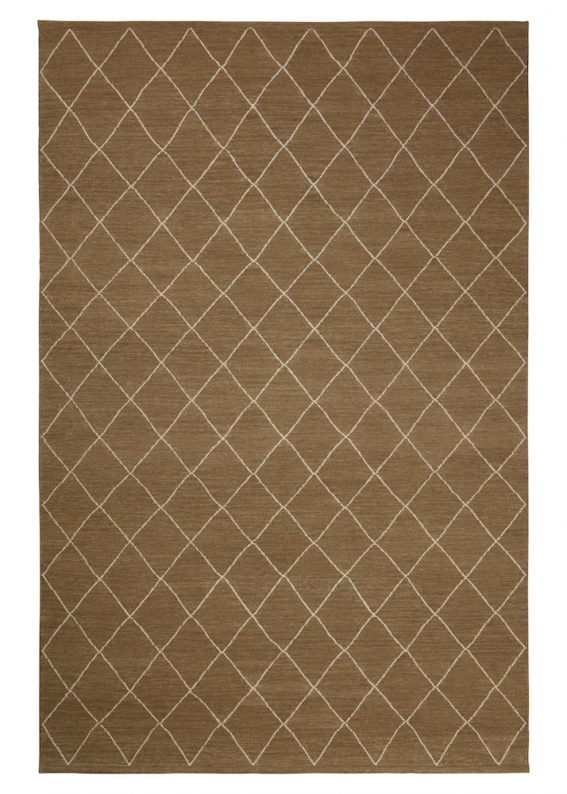 Diamond - Mocha/Off White in the group Rugs / Wool Rugs at Chhatwal & Jonsson (ZDH252281-13)