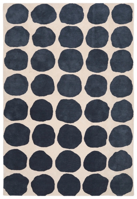 Dots - Light Khaki/Blue Melange in the group Rugs / Wool Rugs at Chhatwal & Jonsson (ZDH352246-9)