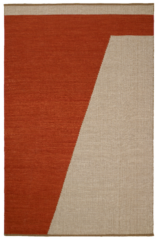 Una - Rust/Beige/Off White TRACEABLE in the group Rugs / Wool Rugs at Chhatwal & Jonsson (ZDH502267-14)