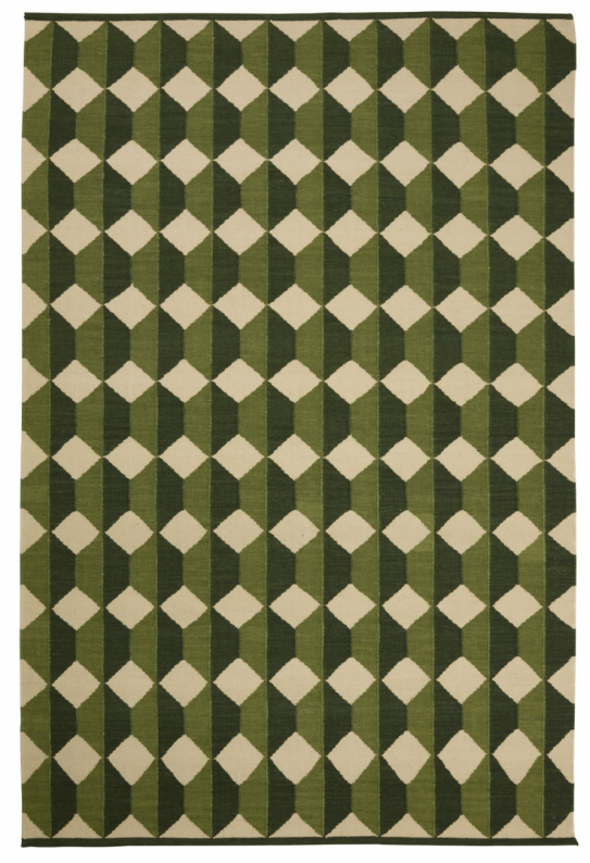 Jodhpur - Green/Cactus Green/Off White in the group Rugs / Wool Rugs at Chhatwal & Jonsson (ZDH742270-10)