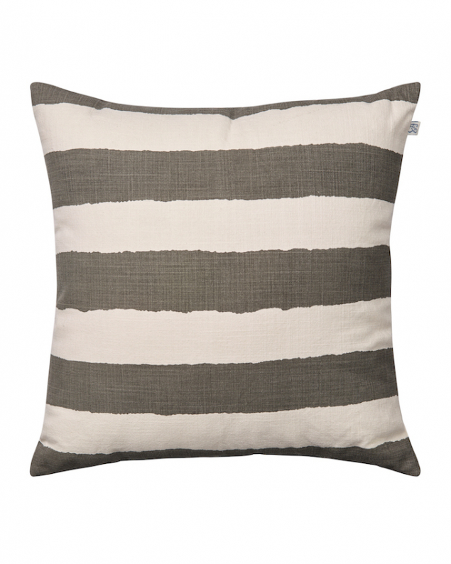 Ikat Stripe - Off White/Grey OUTDOOR in the group Cushions / Outdoor Cushions at Chhatwal & Jonsson (ZOIC050113-13)