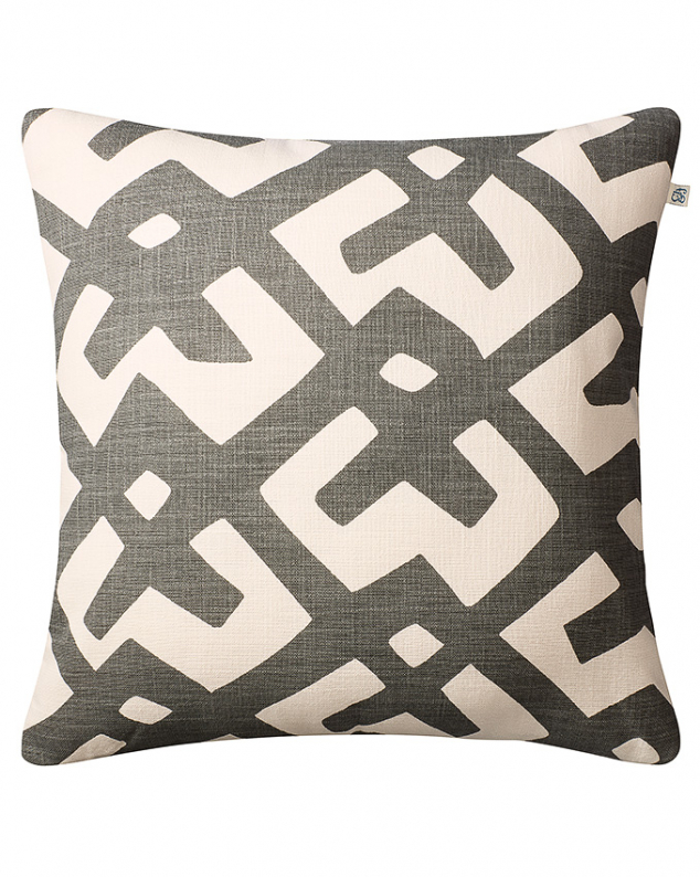 Dadra - Grey/Off White OUTDOOR in the group Cushions / Outdoor Cushions at Chhatwal & Jonsson (ZOIC590113-17)